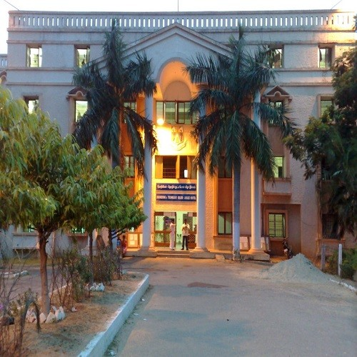 front view of a distance education university